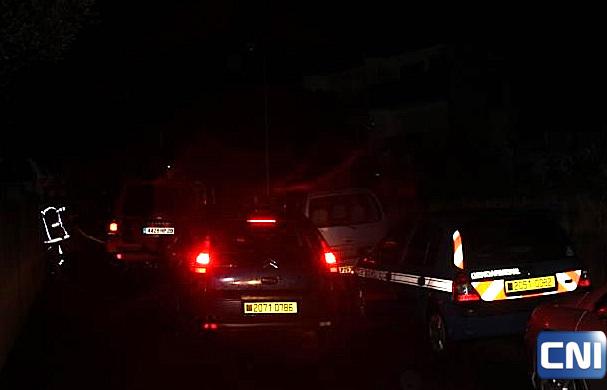 La route du stade de Calvi bloquée par de nombreux automobilistes