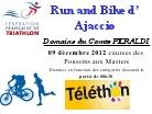 Dimanche 9 Décembre Bike and run organisé pour le Téléthon
