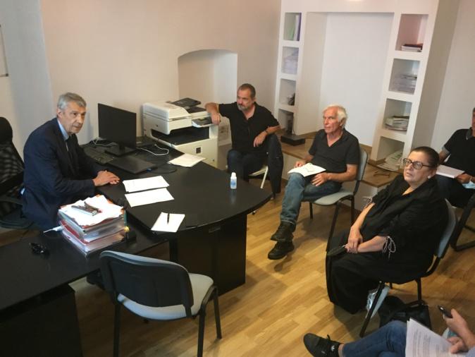 Le collectif anti-mafia Massimu Susini reçu par le député Michel Castellani