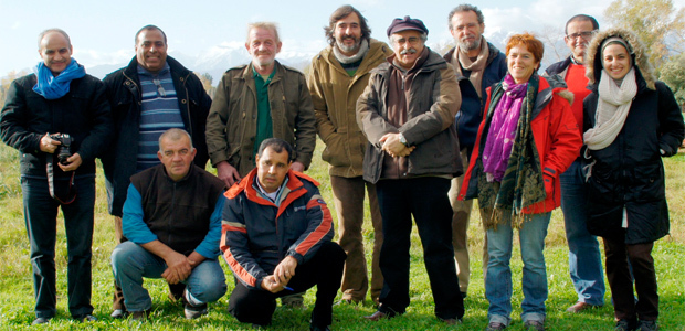 L'équipe des universitaires français et marocains a été séduite par la façon de gérer l'élevage des brebis et l'agriculture bio des immortelles.