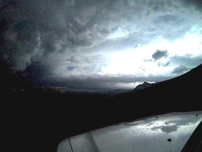 Nuit d'orage sur la baie de Calvi (Eric Frulani)