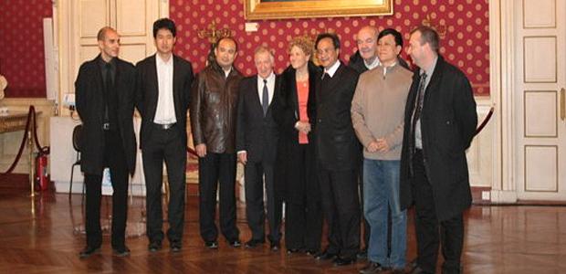 Les représentants de la Province de Hainan