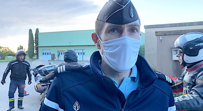 Haute-Corse : les motards répètent leurs gammes avec la gendarmerie