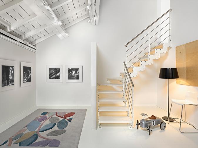 Les atouts d'un escalier hélicoïdal de chez Fontanotshop