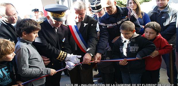 Saint-Florent : La nouvelle caserne des sapeurs-pompiers inaugurée