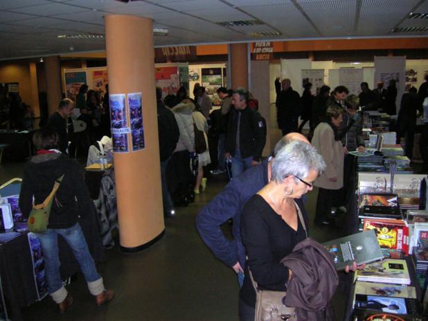 Le public ajaccien s'est déplacé en masse au Festival de la BD pour découvrir les nouveautés et rencontrer les auteurs. (Photo: Yannis-Christophe Garcia)