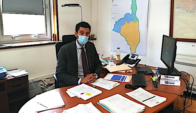 Mejdi Jamel, directeur de cabinet du préfet de Haute-Corse