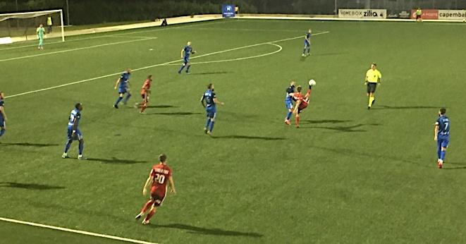 Toujours pas de victoire à domicile pour le FCBB tenu en échec par Bourg-Peronnas (1-1)