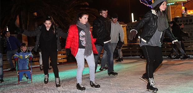 La patinoire de Calvi connaît un immense succès