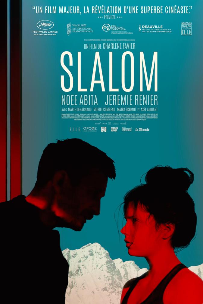 Affiche de « Slalom » avec Noée Abita ©Jour2fête