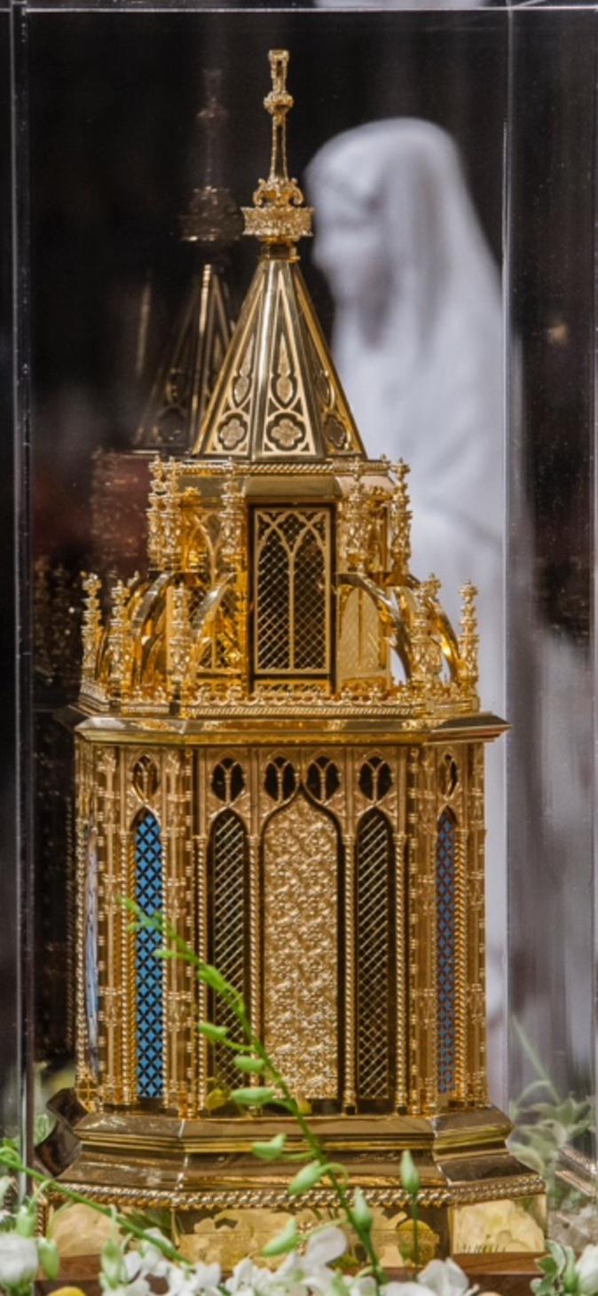 Le Reliquaire qui sera exposé à Bastia du 2 au 18 février 2021