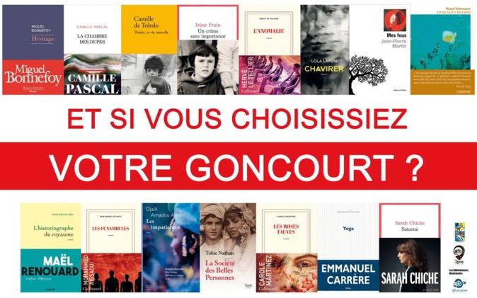 Littérature. Et si vous choisissiez votre Goncourt ?