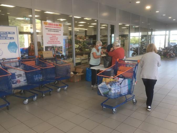 L'Île-Rousse : Mobilisation pour les sinistrés des Alpes-Maritimes