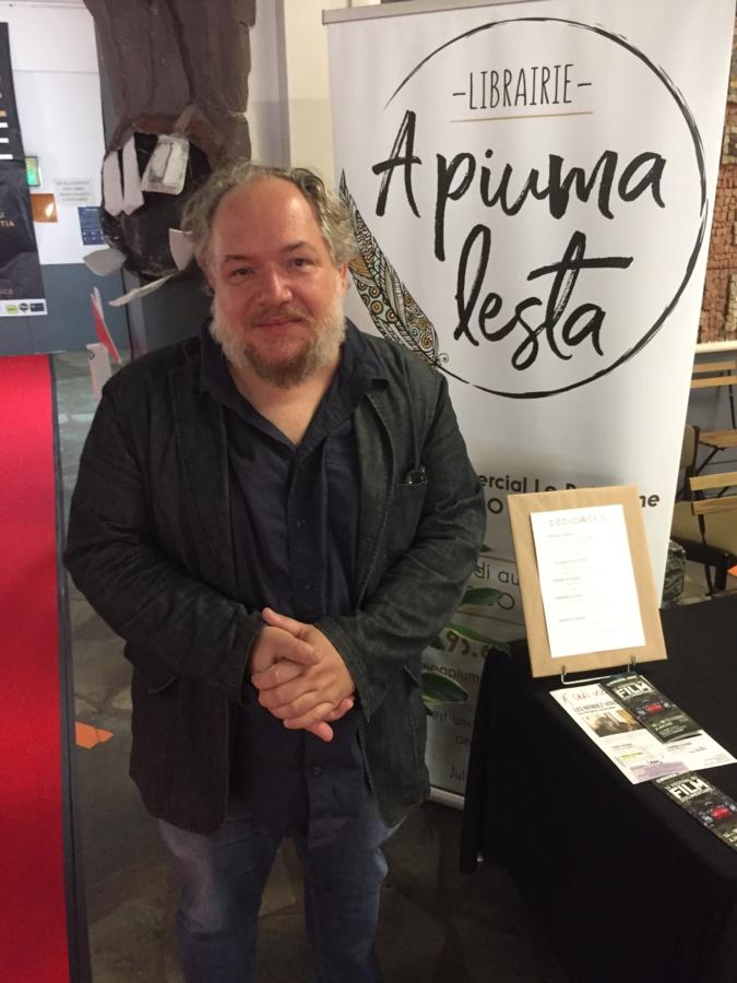 """Mathias Enard : """"l'intrigue de mon prochain roman pourrait se dérouler en Corse"""""""
