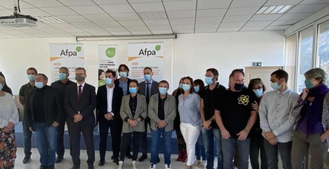 "Corti : première formation ""ambassadeur du tri"" à l'Afpa"