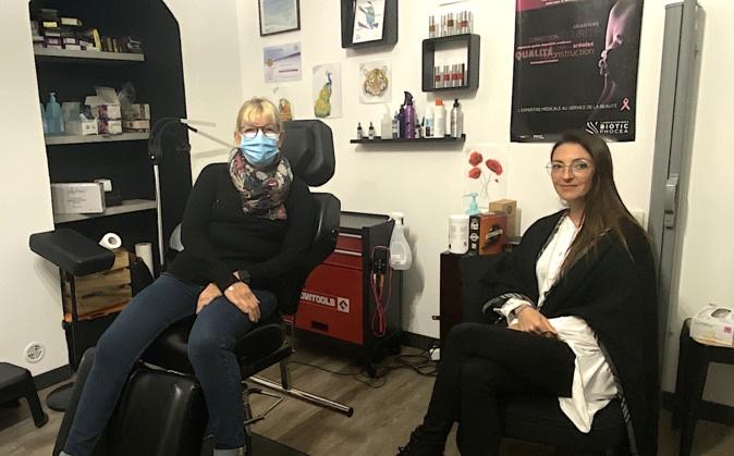 A Bastia une tatoueuse répare les cicatrices après un cancer du sein