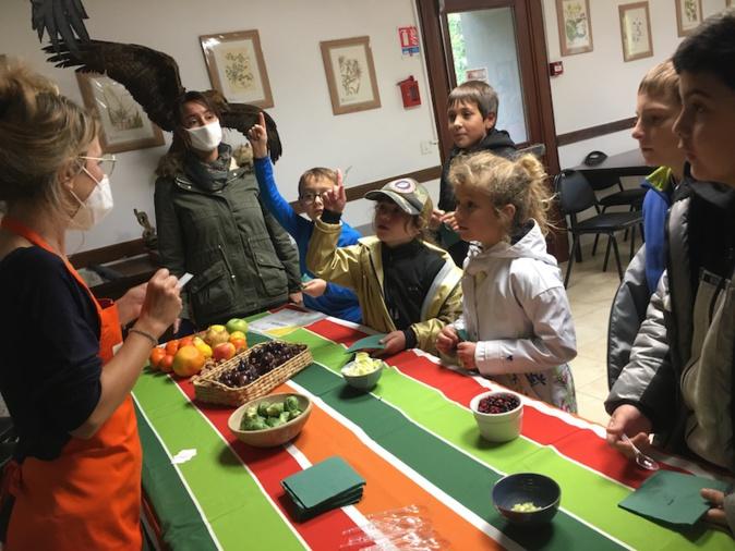 Agri'Gusti : A Vizzavona les écoliers de Santo-Pietro-di-Venaco et Grosseto ont mis la Corse dans l'assiette