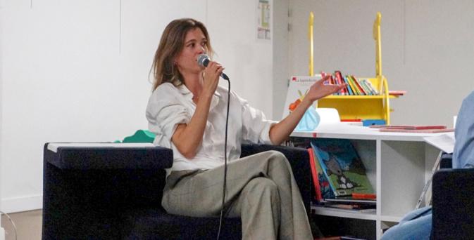 Francesca Serra à la rencontre du public bastiais