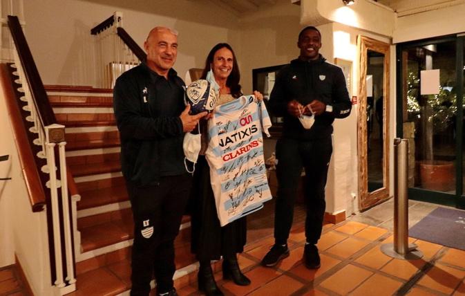 Rugby Champions Cup : le Racing 92 s'est préparé à Porto-Vecchio
