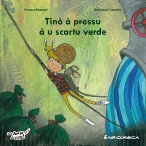 Un conte offert aux enfants à bord des avions d'Air Corsica pendant les fêtes de Noel