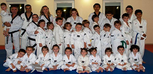 Passage de grade réussi au Taekwondo à Aleria