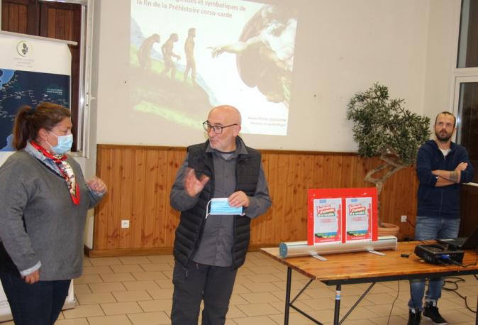 Christian Andreani, président du réseau européen des centres culturels San Mart