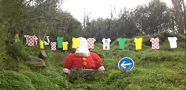 Pietranera : On a retrouvé la tête Père Noël !