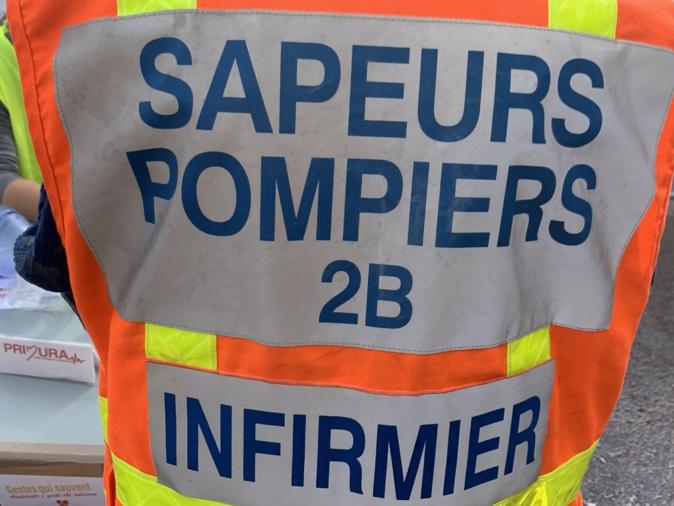 Bastia : une femme blessée dans un accident de la route