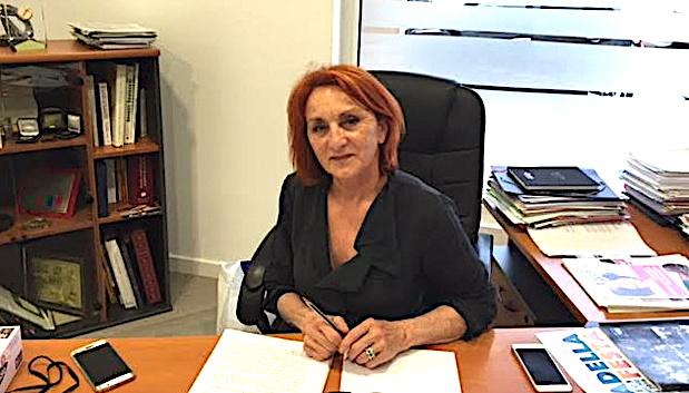 Louise Nicolai, présidente de l'U2P de Corse