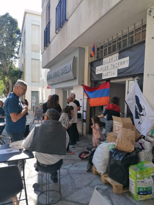 Bastia : un dimanche de solidarité pour l'Arménie !