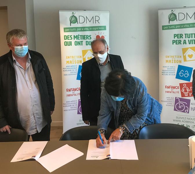 La ligue contre le cancer 2A et l'ADMR 2A unis au service des malades