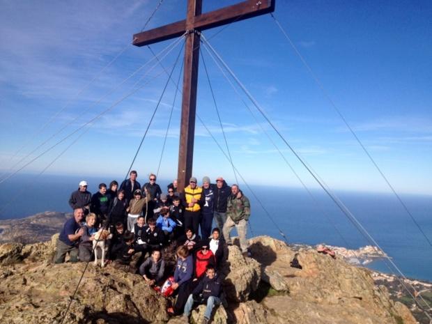 Les U13 du FC Calvi prennent de l'altitude à Capi di a Veta !