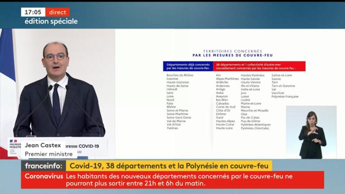 Covid-19 : couvre-feu en Haute-Corse et en Corse-du-Sud