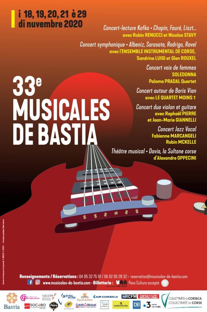 La 33ème édition des Musicales de Bastia maintenue malgré le couvre-feu