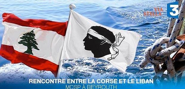 Télé : Rencontre entre la Corse et le Liban