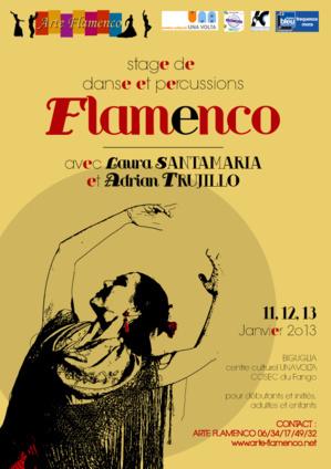 Bastia : Stage flamenco avec Laura Santamaria y Adrian Trujillo