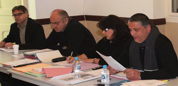 La délégation du FC Calvi