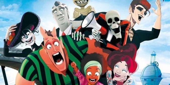 Des monstres confinés dans un parc d'attraction !