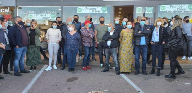 Porto-Vecchio : les petits commerçants ne veulent pas être l'alibi du confinement