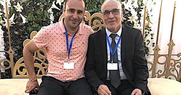 Miloud Mesghati (à droite) en compagnie de Mourad Maabich