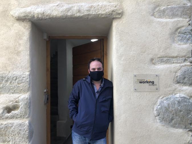 Pierre Ridolfi, fondateur du coworking de Balagne