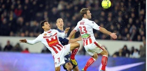 Arnaud Maire a donné du fil à retordre aux attaquants Parisiens, et compte bien remettre ça face à Valenciennes (Photo : iconsport)