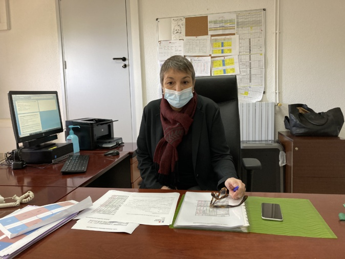 Sylvie Peraldi, proviseure du Lycée Laetitia à Ajaccio