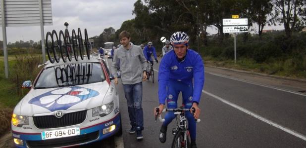 Tour de France : Geoffrey Soupe a retrouvé Calvi et la Corse avec la Fdj