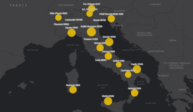 """Covid-19: en Italie l'Ordre des Médecins réclame un """"confinement total"""" de 6 semaines"""