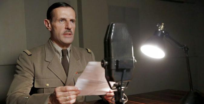 Lambert Wilson dans le rôle du Général de Gaulle © SND
