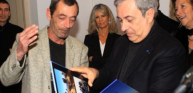 Jean-Louis Gonin honoré par la municipalité de Calvi