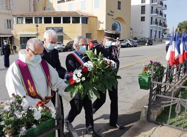 11-Novembre : une cérémonie en comité restreint à Calvi