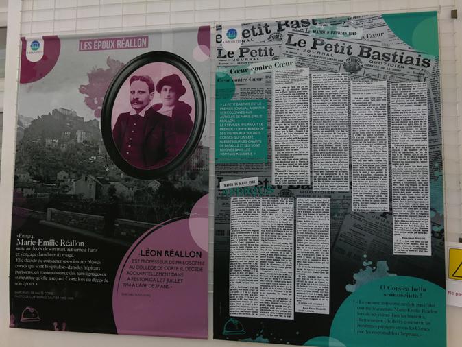 """Corte : une exposition consacrée à Marie-Emilie Réallon, """"l'infirmière des blessés corses de la Grande Guerre"""""""
