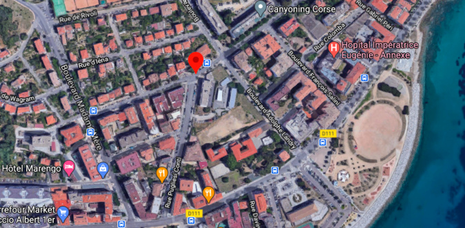 Ajaccio : fuite de gaz boulevard Fred Scamaroni